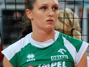 Polska siatkarka Magdalena Gryka